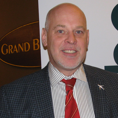 Pierre Gratton, president and CEO of the Mining Association of Canada, spoke at the chamber of commerce luncheon in Cranbrook, B.C., on March 1.