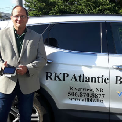 RKP Atlantic Business Services owner, Ron Pomerleau.