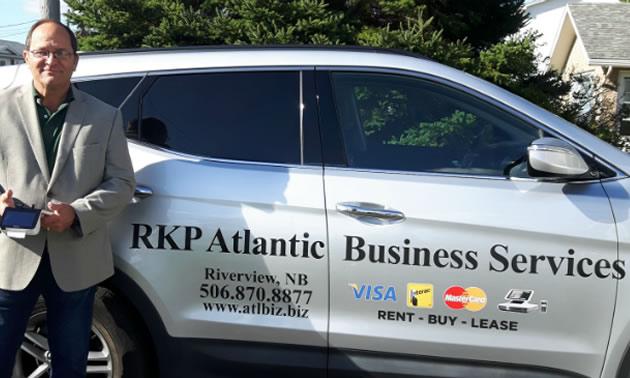 RKP Atlantic Business Services owner, Ron Pomerleau.
