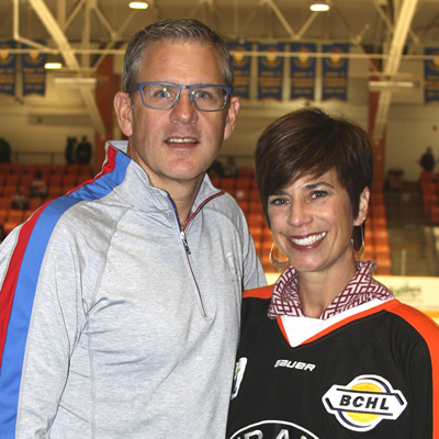 Rich and Annie Murphy bought the Trail Smoke Eaters Hockey Club in November 2016.
