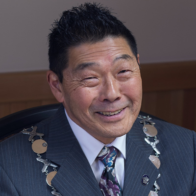 Ron Toyota, mayor of Creston, B.C.