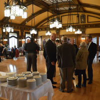 Reception at the Royal Alexandra Hall, Cranbrook, B.C.