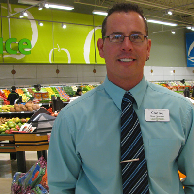 In early January 2016, Shane Warman became the manager at Save-On-Foods in Cranbrook, B.C.