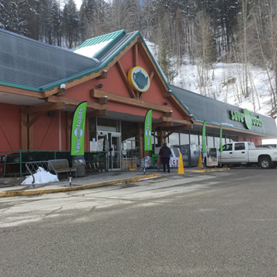 The Overwaitea Store in Kimberley is one of the stores which recently re-branded as a Save-On-Foods.