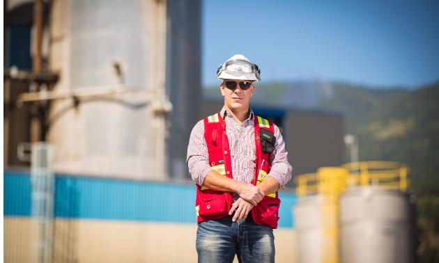 John Belland, HR manager at Zellstoff Celgar.