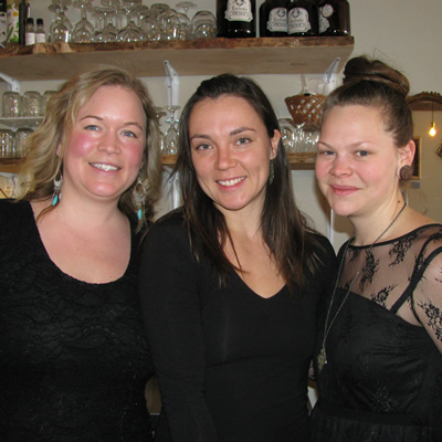 Tamara Mercandelli, Christel Hagn and Caitlin Berkhiem are the owners of Soulfood restaurant in Cranbrook, B.C.