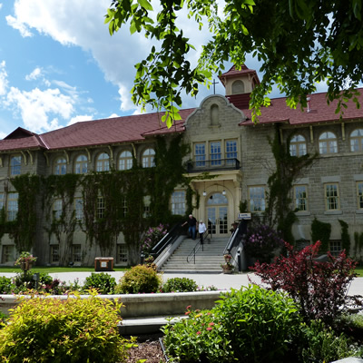 The elegant historic building that is now the hotel at the St. Eugene Golf Resort & Casino was a residential school from 1912 to 1970.