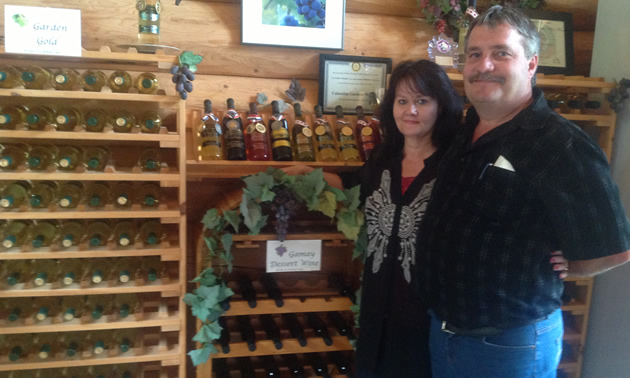 Tersia and Ben DeJager own and operate Columbia Gardens Vineyard & Winery near Trail, B.C.