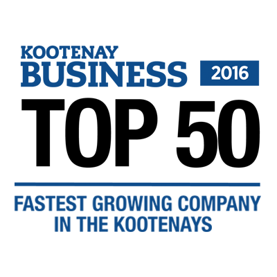 Top 50 Fastest Growing Companies in the Kootenays