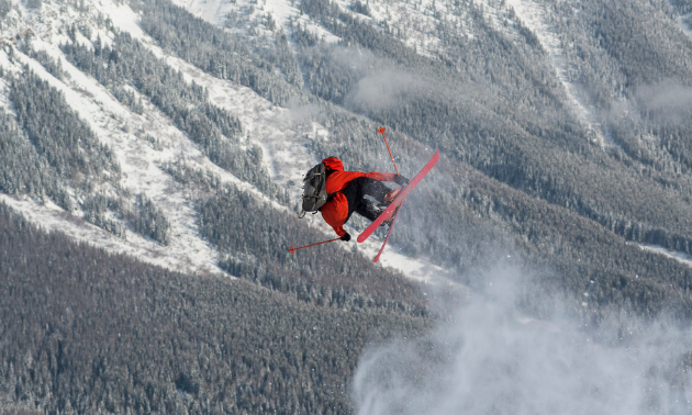 An adrenalin rush of adventure is spotlighted in Winter of our Content and Ascent to Powder.