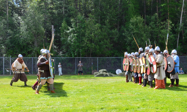 Prepare for battle! Knights, Vikings and fighters from across Canada re-enact battles and compete with each other for the love of all things medieval.