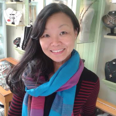 Ting Yuen, Artist/Jewelry designer/owner and operator of Art Rush Gallery.