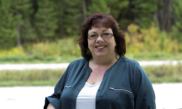 Ute Juras is the mayor of Canal Flats, B.C.