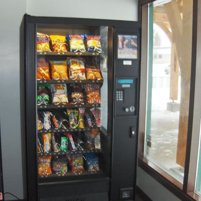 Picture of vending machine.