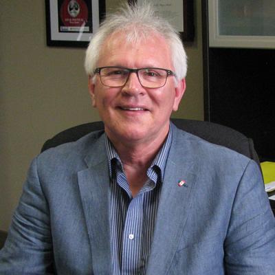 Wayne Stetski, MP for Kootenay Columbia, at his office in Cranbrook, B.C.