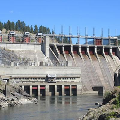 Waneta Dam in Trail, B.C.