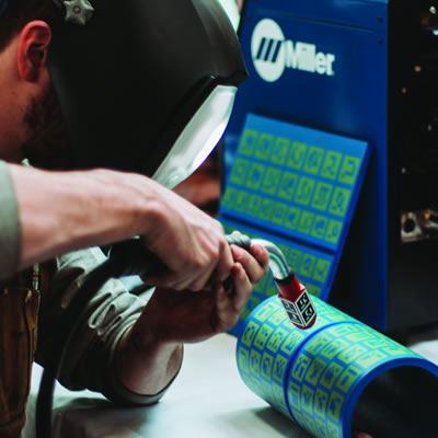 College of the Rockies Welding students have the opportunity to perfect their skills with a welding simulator purchased thanks to funding from the Ministry of Advanced Education, Skills and Training.