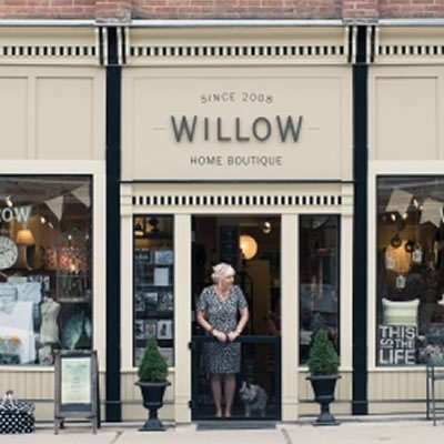 Front of Willow Home Boutique