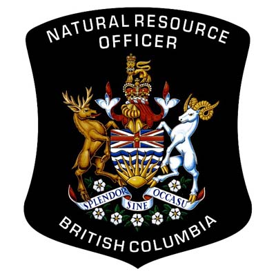 Picture of National Resources Officer badge.