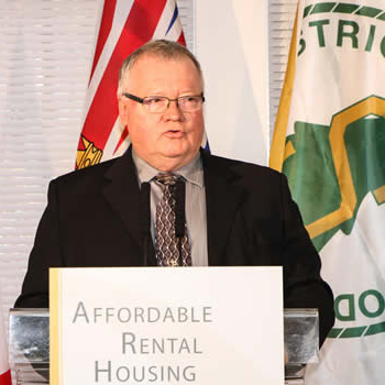 Cal McDougall, mayor of Sparwood, B.C.