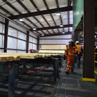 Photo of Canfor's new planer mill