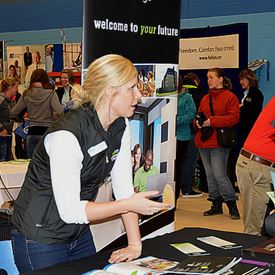 Meet your recruitment needs and raise your business's profile by becoming an exhibitor at two upcoming local career events!