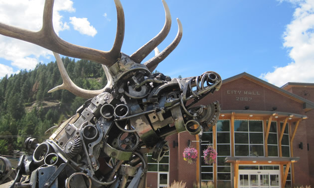 Castlegar's Sculpturewalk highlights local talent.