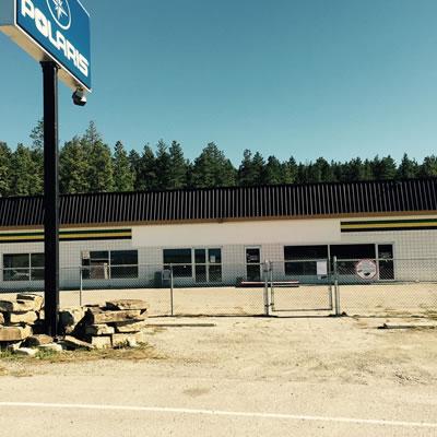 Site of former Cervus Equipment location Cranbrook, now closed.