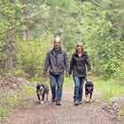 Chris and Laurie Weitzel, owners of Cherry Creek Property Services in Kimberley, B.C.