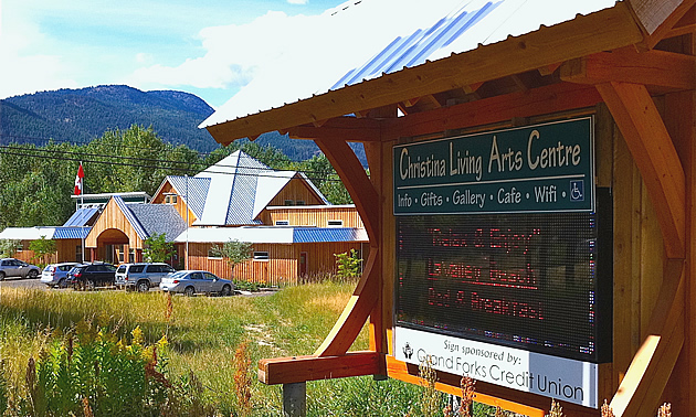 The arts thrive in Christina Lake.
