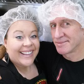 Kathy and Dave Sutherland, owners of Dave's Hot Pepper Jelly in Invermere. Photo courtesy Dave's Hot Pepper Jelly
