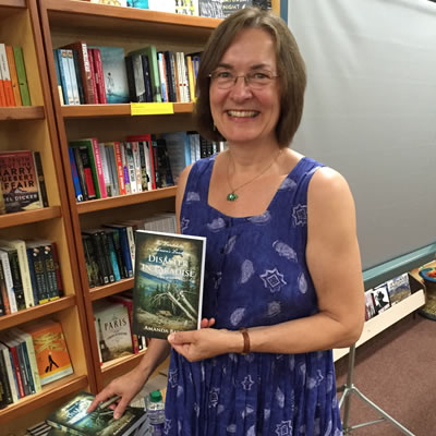 Picture of Amanda Bath, of Kaslo, author of Disaster in Paradise.
