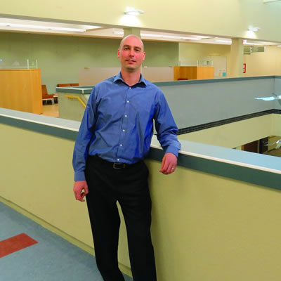 Drew Miller, new Executive Director, Human Resources at the College of the Rockies.