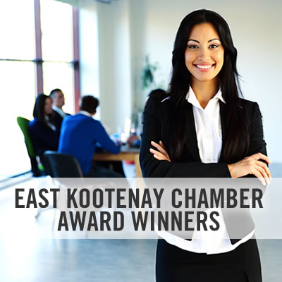 Who are the East Kootenay's top business people of 2016? We've compiled a list of all Chamber of Commerce awards into this one handy list.