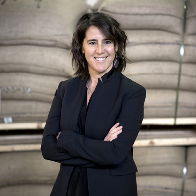 Elana Rosenfeld, CEO of Kicking Horse Coffee in Inveremere.
