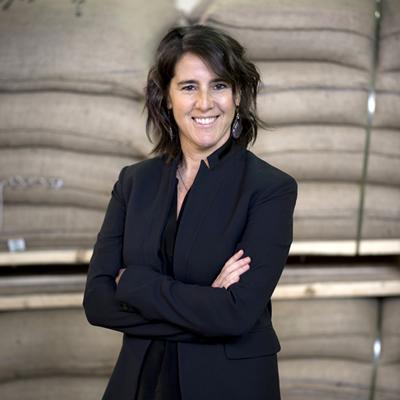 Elana Rosenfeld, CEO of Kicking Horse Coffee in Inveremere.