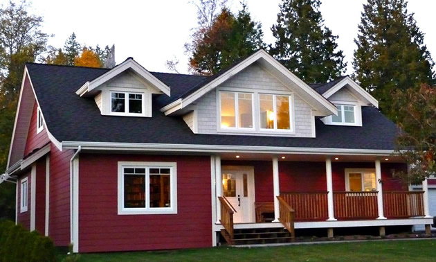 A home by Nelson-based Ellenwood Homes.