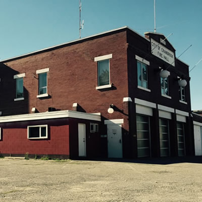 The old Firehall, located on 11th Ave S. in downtown Cranbrook.