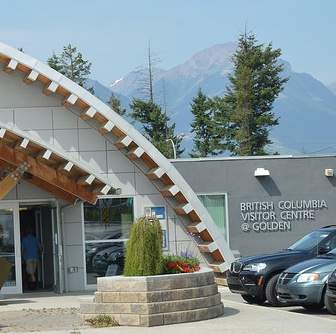 Golden's Visitor Centre.