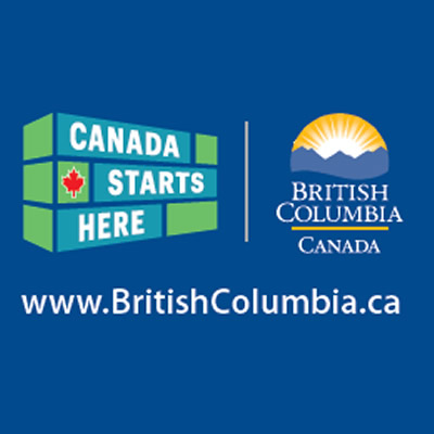 Logos of BC government.