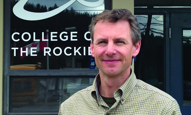 College of the Rockies Kimberley Campus Business Development Manager, Jeff Cooper, looks forward to meeting members of the Kimberley community at the May 16 Open House.