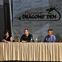 Junior dragon's den panel