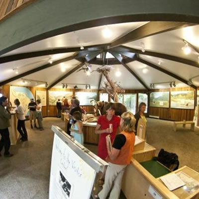 Picture of Kokanee Creek Visitor Centre, located on Kootenay Lake.