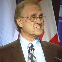 Stephen Lewis was the keynote speaker at the recent Union of B.C. Municipalities convention at the Vancouver Convention Centre.