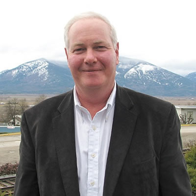 Picture of Mike Fitzpatrick, new manager at the Creston Valley Chamber of Commerce.