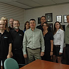 Staff at Mitech in Cranbrook, BC
