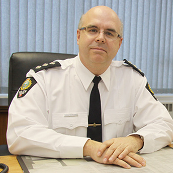 Nelson Police Department's new chief, Paul Burkart