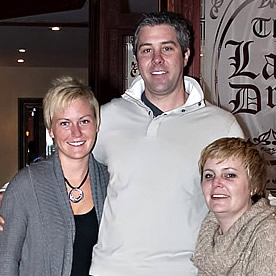 Photo of three of the owners of Powder Springs Inn