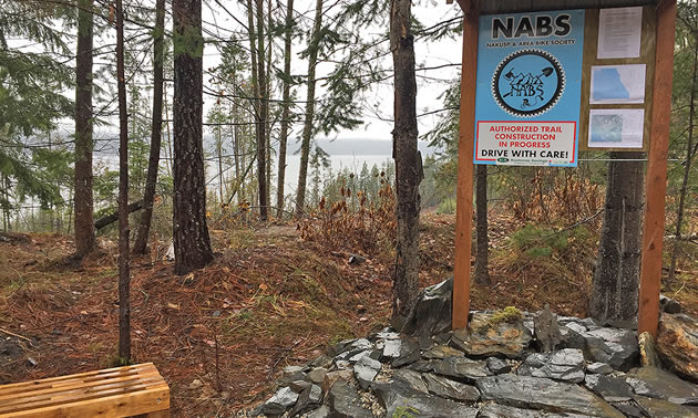 The Nakusp and Area Bike Society will add a wooden boardwalk to the Mount Abriel Trail Network Development's Lake Trail