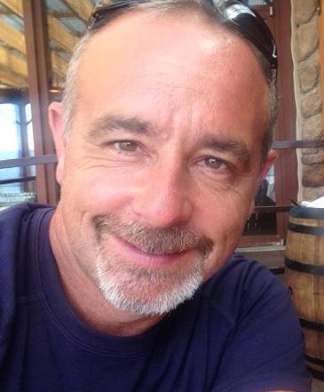 A  head shot of Rod Harris.